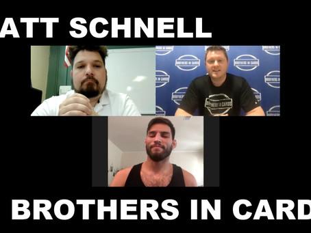 Watch UFC Fighter Matt Schnell rip our Gold Box!