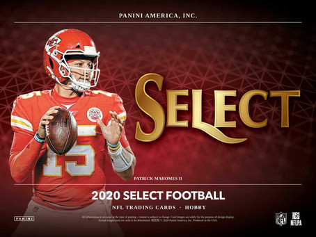 Dual Box Break of 2020 Select Now Available!