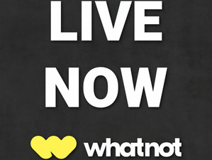 Live Now on WhatNot!