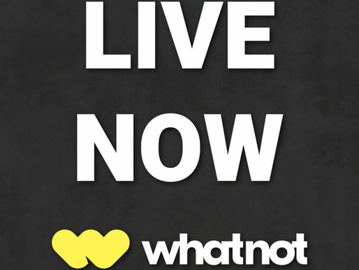 Live Now on WhatNot