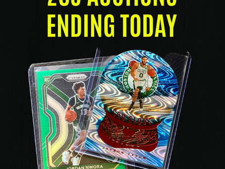 Auctions Ending Tonight!