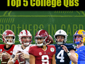Top 5 College QBs