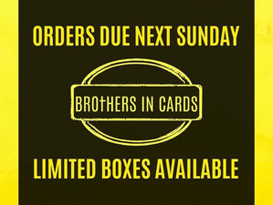 Orders due April 18 - Boxes selling out fast!
