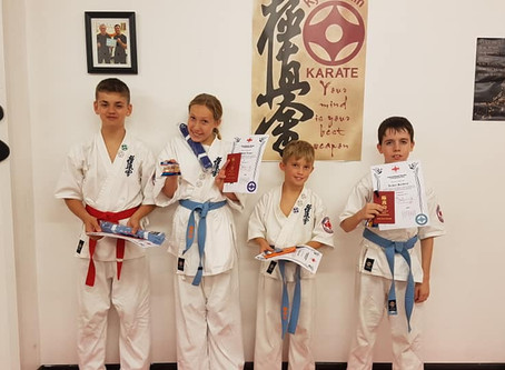 September Gradings 2019