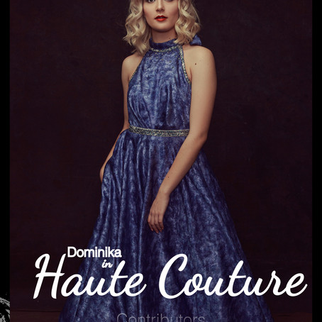 Dominika in Haute Couture