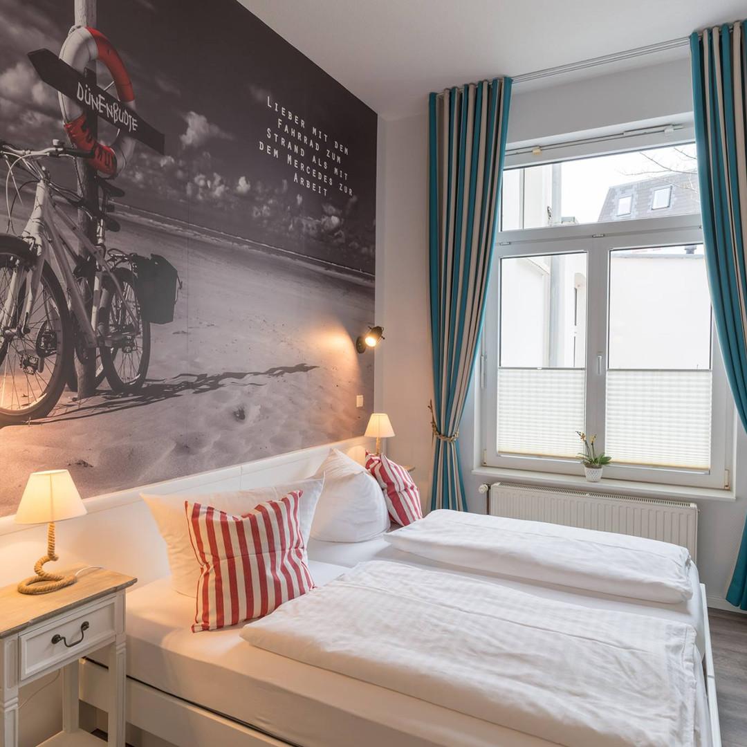 Fototapete Hotel Borkum