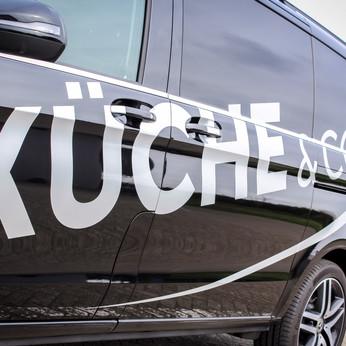 Fahrzeugbeschriftung Küche&Co. Bremen