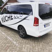 Fahrzeugbeschriftung Küche&Co. Lohne