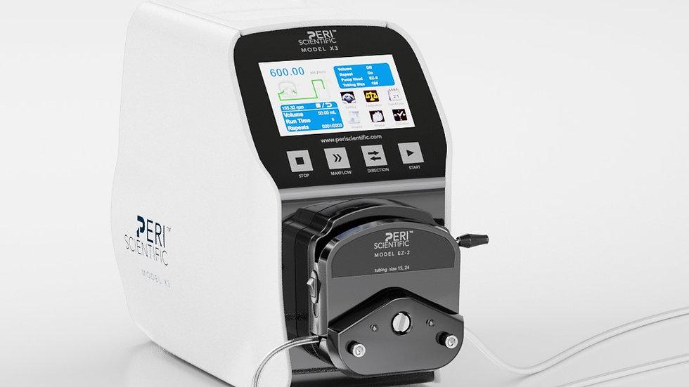 X3- PeriScientific Smart Pump Systems, 0.007-2280 mL/min