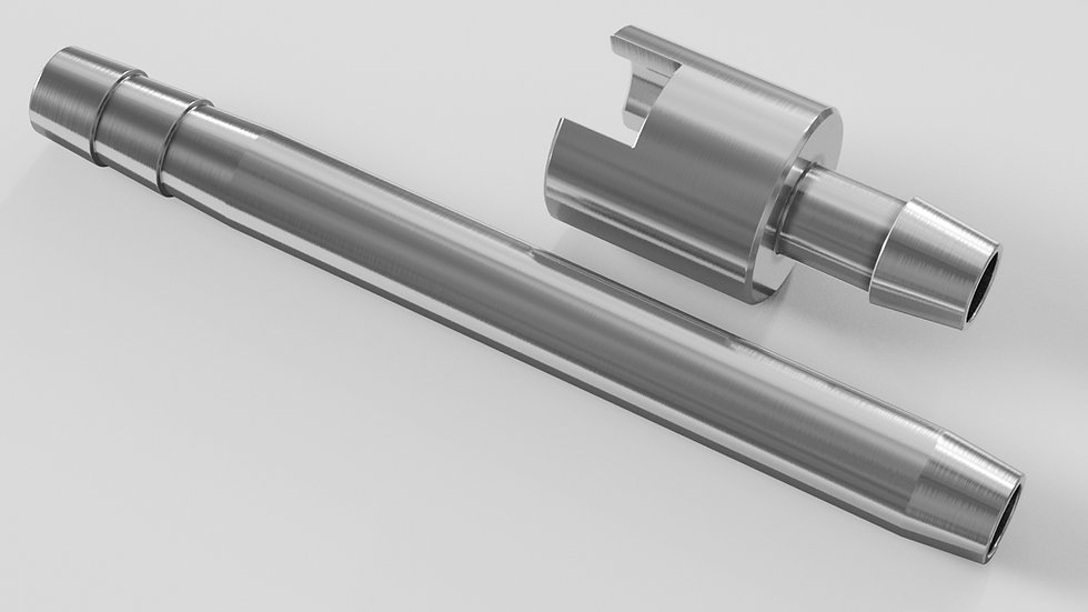 Dispensing Nozzles & Feeding Tube Sinkers (stainless steel)