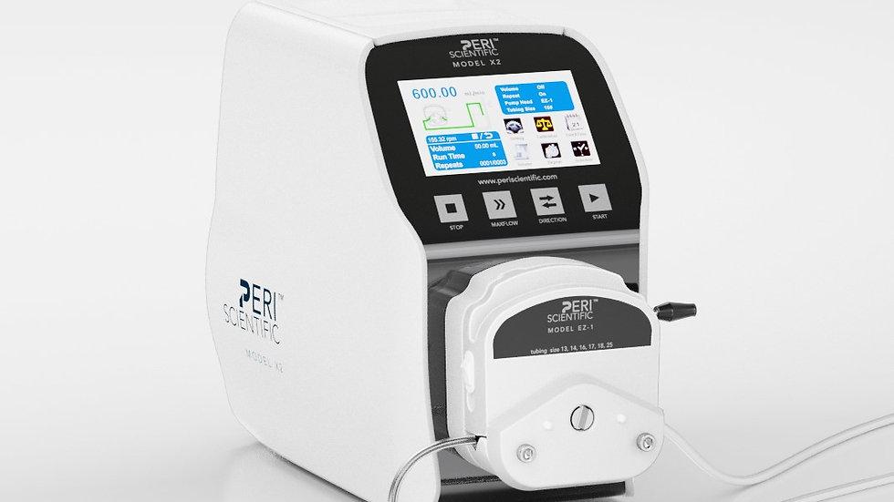X2- PeriScientific Smart Pump Systems, 0.007-1330 mL/min