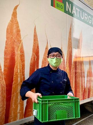 Das MISIK wird regelmäßig mit frischem, knackigen Bio-Gemüse beliefert.