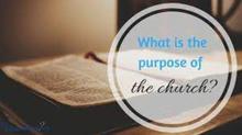 교회의 목적 세 가지
