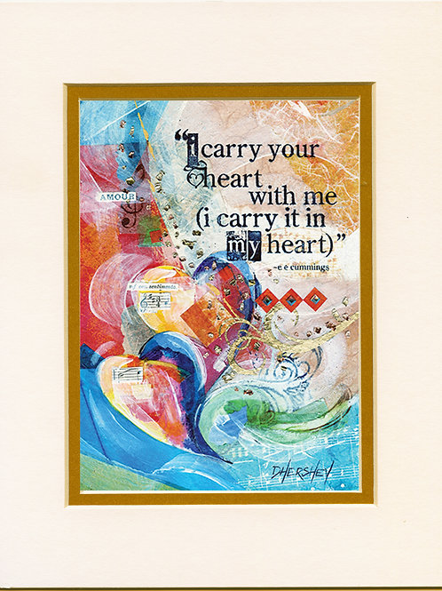 #204-I Carry-Matted Print