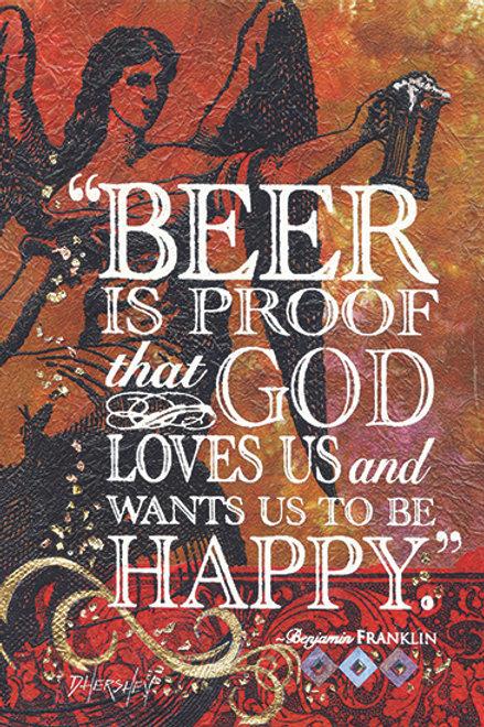 #199-Beer Is Proof