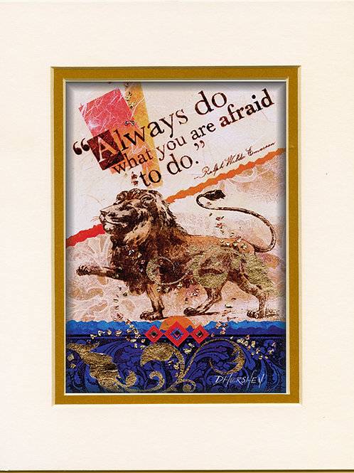 #173-Always-Matted Print