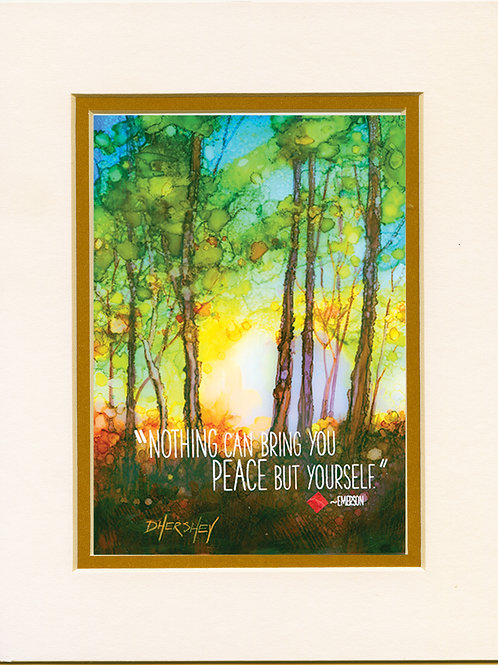 #110-Nothing Can-Matted Print