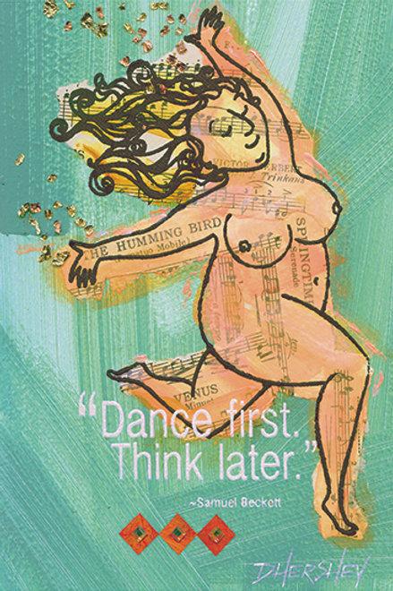 #210-Dance-Matted Print
