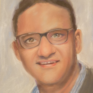 Dr Jawahar for portraits for NHS heroes
