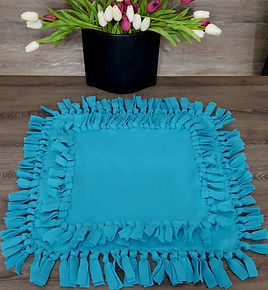 Set of 2 small dog blankets