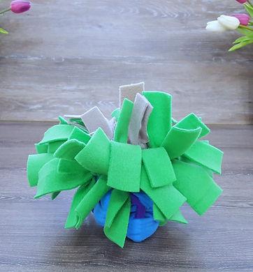 Designer Sea Anemone Snuffle Dog Toy