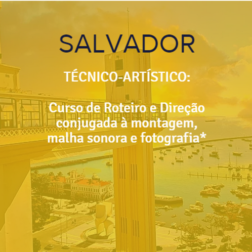 SALVADOR - ARTÍSTICO EM AUDIOVISUAL