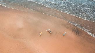 Surfers in Tamarindo Costa Rica