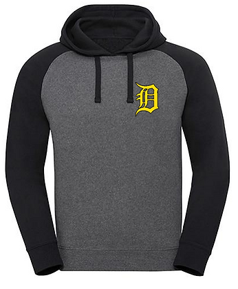 Russell Authentic Hooded Baseball Sweat + Stick