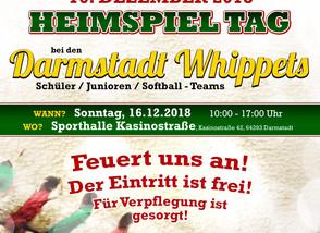 Hallenbaseball Heimspieltag am 16.12.2018