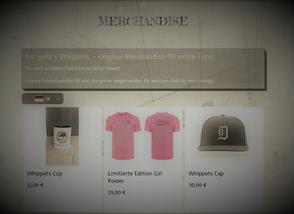 Unser Merchandise Shop ist online!