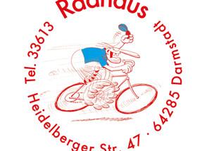 Das Radhaus Darmstadt ist neuer Partner der Whippets!