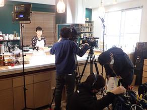 【お知らせ】NHK「おはよう日本」番組収録でキッチンスタジオをご利用いただきました。