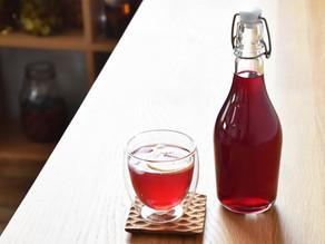 【夏のレシピ】赤紫蘇シロップ