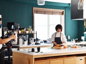 【お知らせ】コンセプトムービー撮影にキッチンスタジオをご利用頂きました