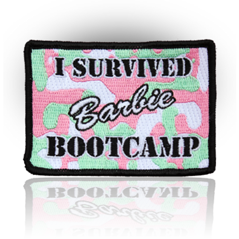 Barbie Bootcamp Patch