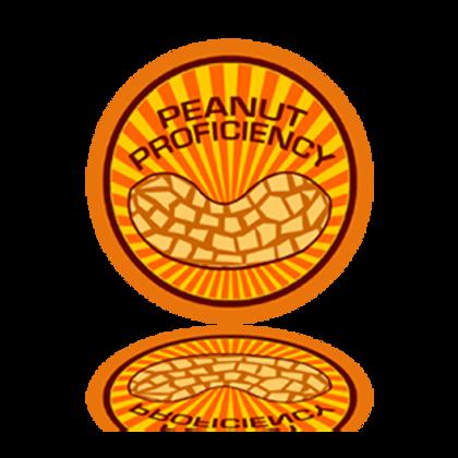 Peanut Proficiency Sticker
