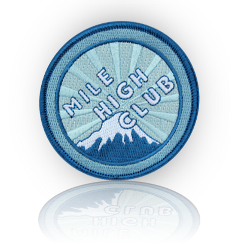 Mile High Club Patch