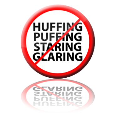 Huffing Puffing Button