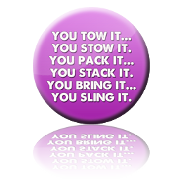 Tow It Stow It Button