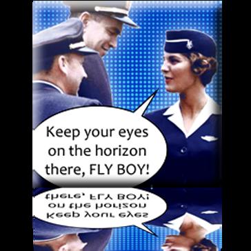 Eyes on Horizon Magnet