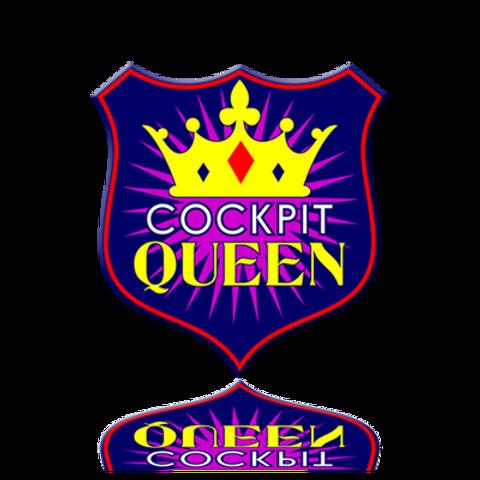 Cockpit Queen Sticker