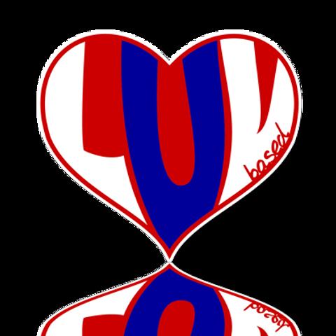 LUV Sticker