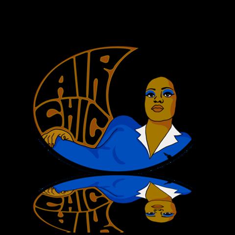 Air Chic Sticker