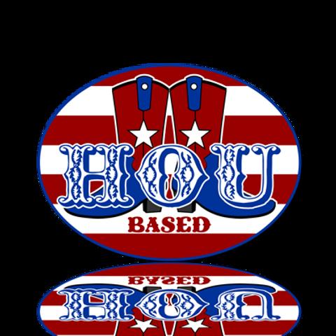 HOU Sticker