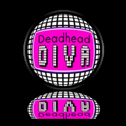 Deadhead Diva Sticker