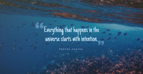 Setting (and Meeting) Your Intentions to Manifest Your Dream Life.