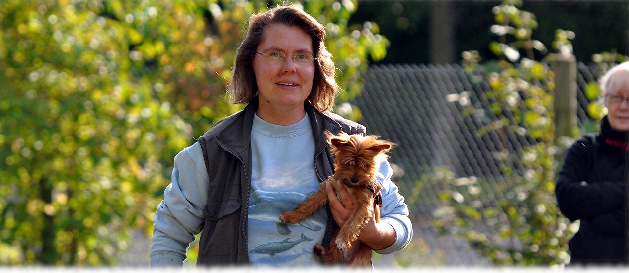 Hundetrainerin Angelika Greiner