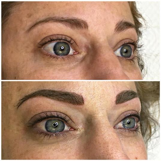 Combination brow and lash enhancement ta