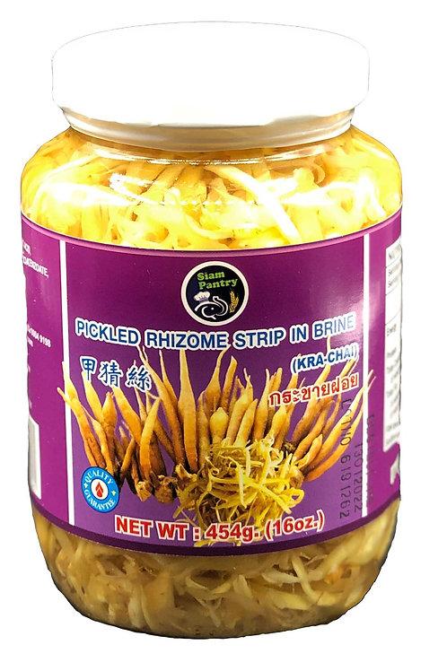 Pickled Rhizome Strip in Brine 454 grams