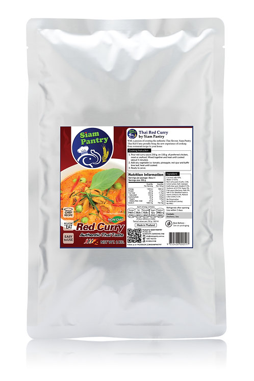 Instant Red Curry Sauce 1000 grams